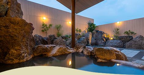疲労回復と美肌に効果絶大天然温泉
